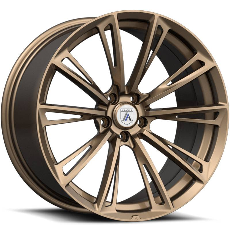 Asanti Monoblock 881 Bronze Wheels