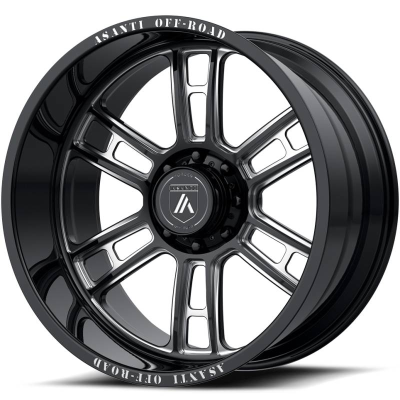 Asanti Off-Road AB109 Black Milled