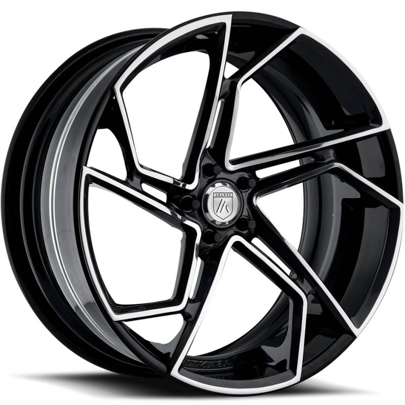 Asanti OTL111 Gloss Black Milled