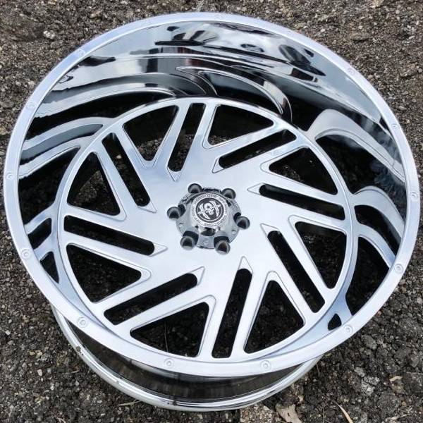 Hardcore Off-Road HC11S Chrome Wheels