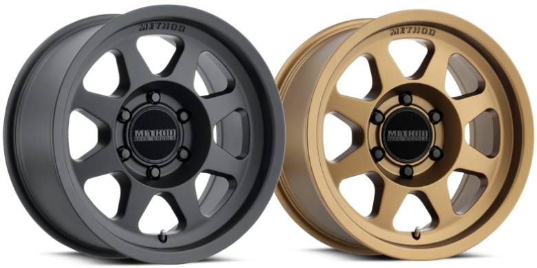 New Method Trail Series 701 in Matte Black and Bronze Finish