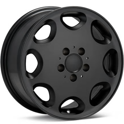 ASA Type 8 Black Wheels