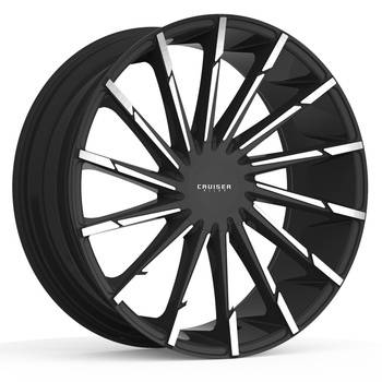 Cruiser Alloy 924MB Stiletto Black Machined Wheels