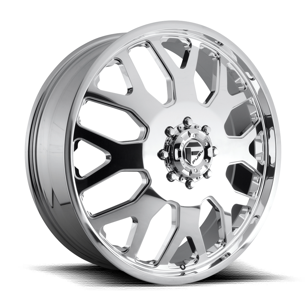 Fuel FF19D Polished Front Dually Wheels