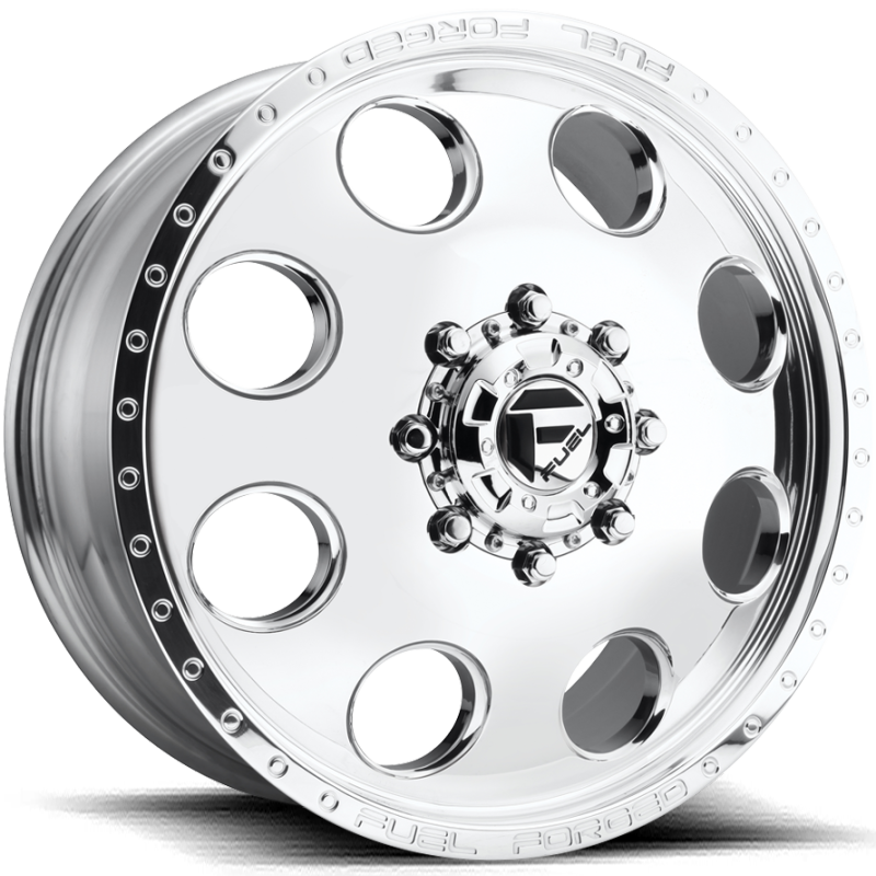 FF31D Polished Front Dually Wheel