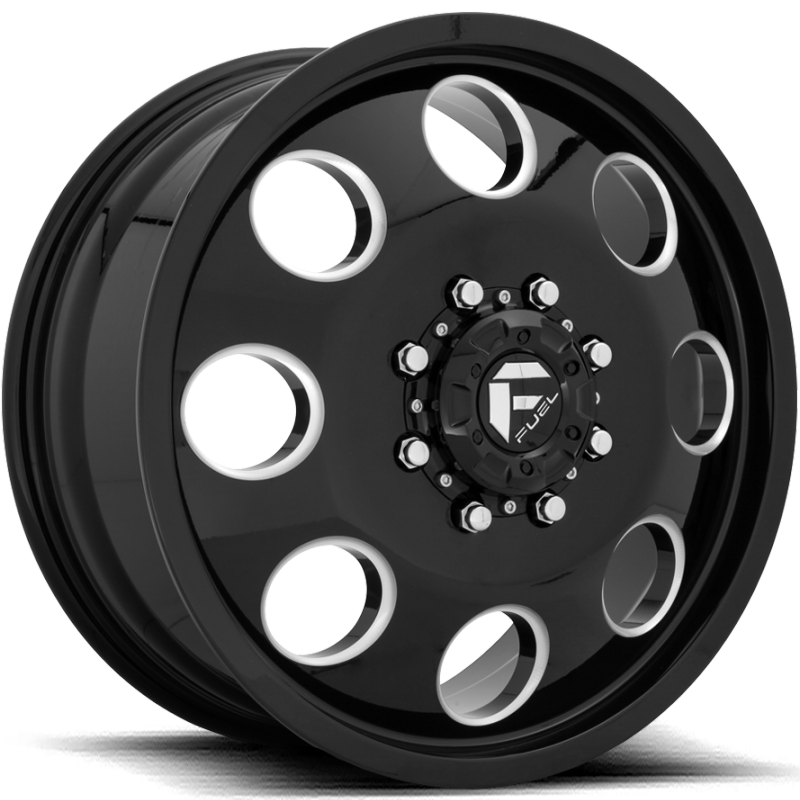 Fuel FF31D Black-Front Dually Wheel