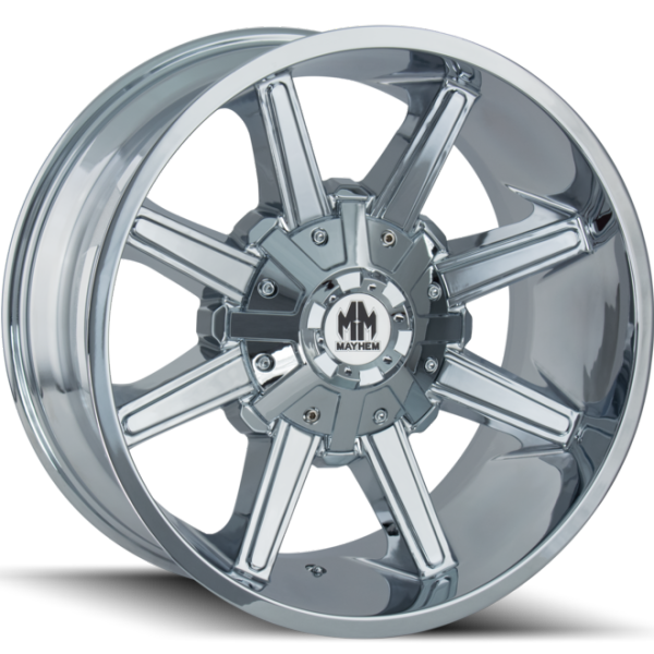 8104 Arsenal Chrome Wheels