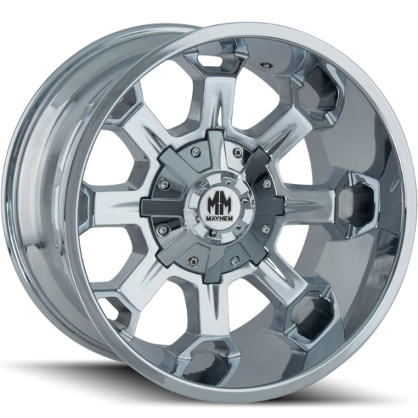Mayhem 8105 Combat Chrome Wheels