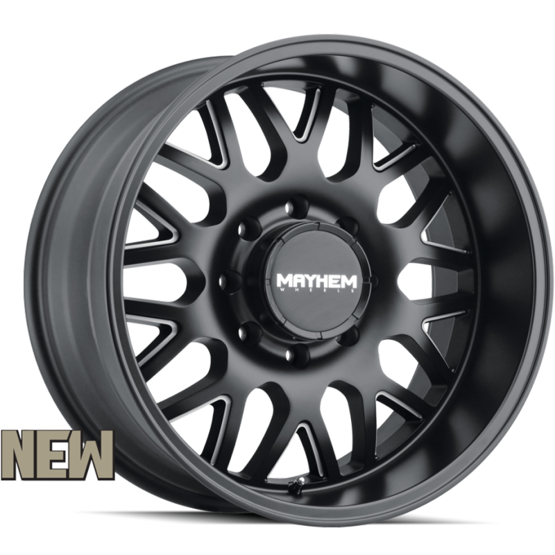 8110 Tripwire Black Milled 8-Lug Wheels