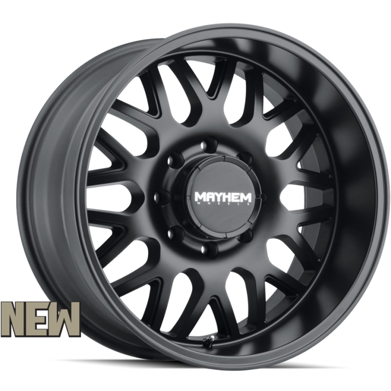 8110 Tripwire Matte Black 8-Lug Wheels