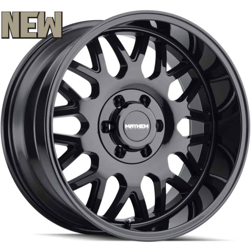 8110 Tripwire Matte Black Wheels