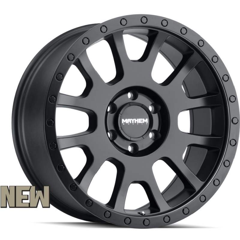 Mayhem 8302 Scout Matte Black Wheels