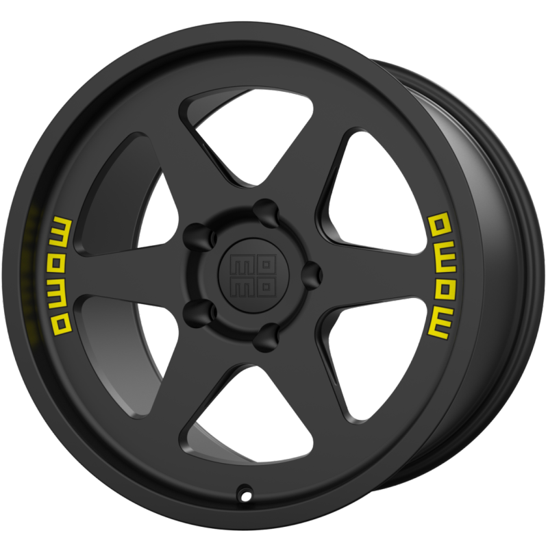 MOMO Heritage 6 Matte Black Wheels