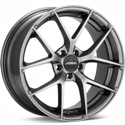 GT14 Gloss Gunmetal Wheels
