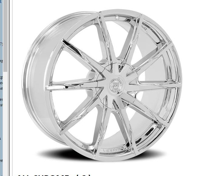 Lexani CSS-15 HD Chrome Wheels