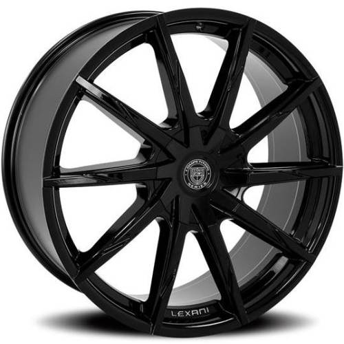 Lexani CSS-15 HD Gloss Black Wheels