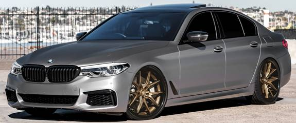 Lexani R-Twelve Bronze Wheels for BMW