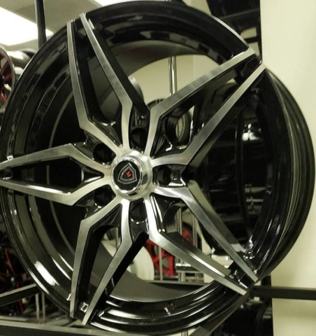 Marquee M.3259 Black Wheels with Machined Face