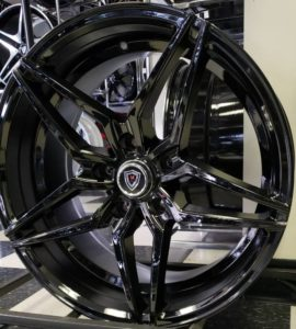 Marquee M.3259 Gloss Black Wheels