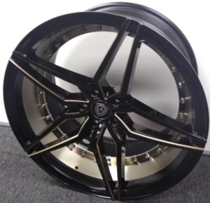 Marquee M3259 Black Titanium Wheels