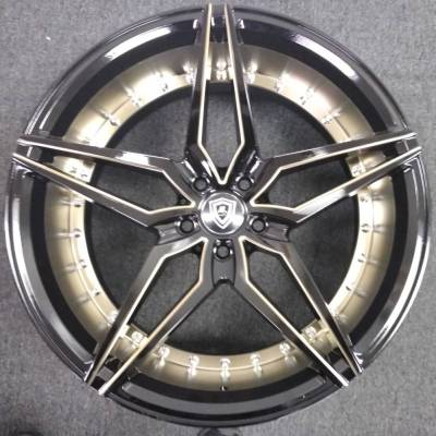 Marquee M.3259 Titanium Black Wheels