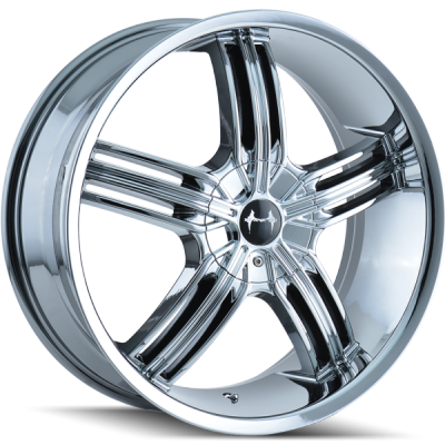 Mazzi 365 Galaxy Chrome Wheels