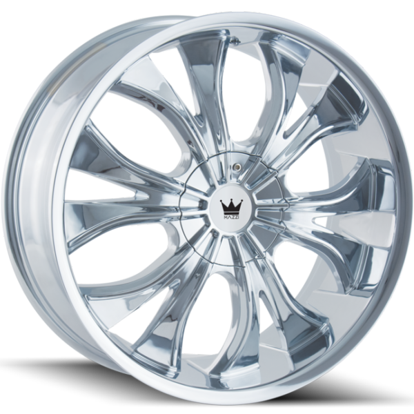 Mazzi Hustler 342 Chrome Wheels