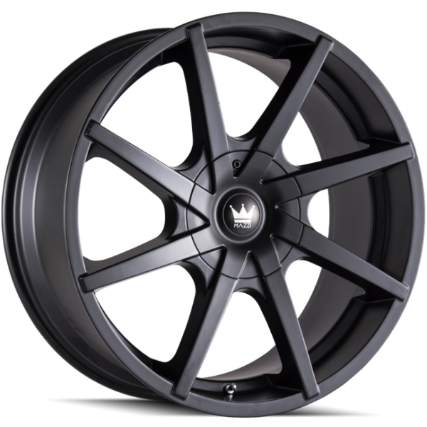 Mazzi Kickstand 369 Matte Black Wheels
