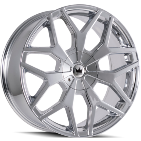 Mazzi Profile 367 Chrome Wheels