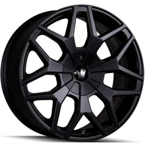 Mazzi Profile 367 Matte Black Wheels