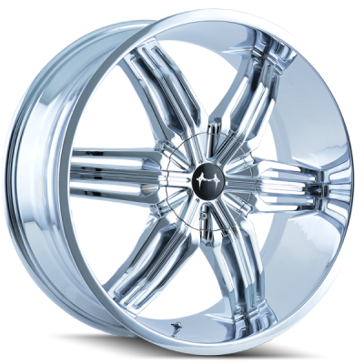 Mazzi Rush Chrome Wheels