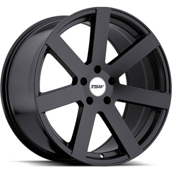 TSW Bardo Mate Black Wheels