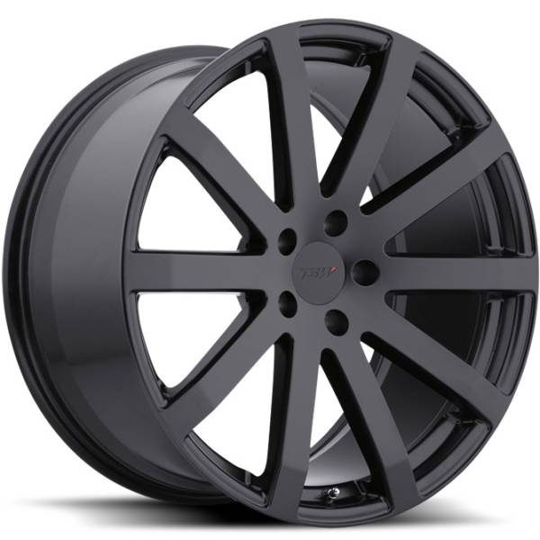 TSW Brooklands Matte Black Wheels