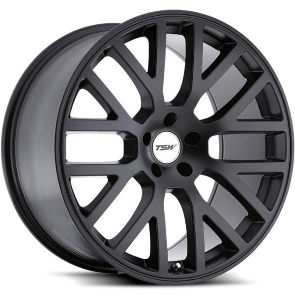 TSW Donington Matte Black Wheels