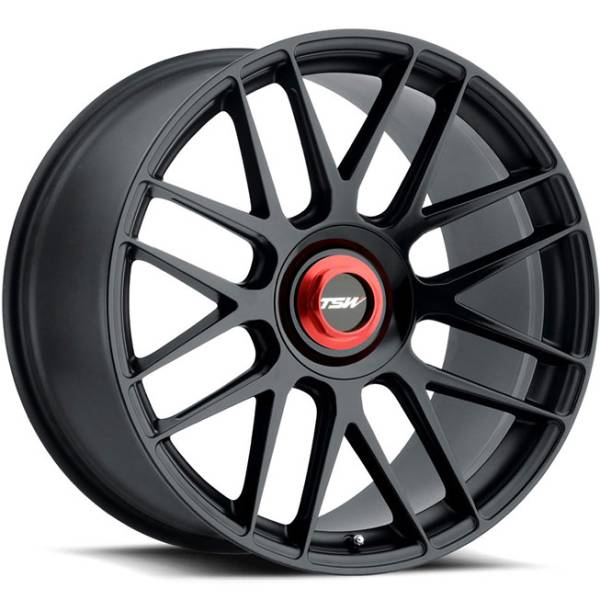 TSW Hockenheim T Black Wheels