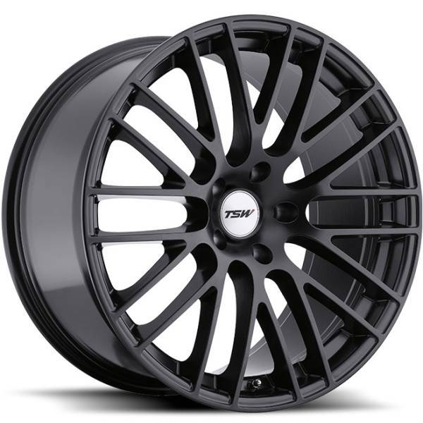 TSW Max Matte Black Wheels