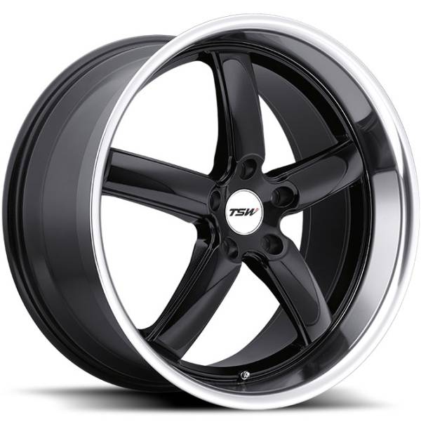 TSW Stowe Gloss Black Wheels