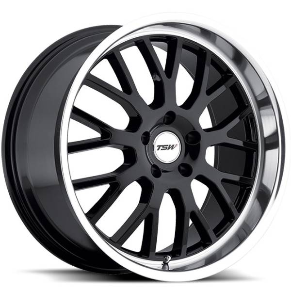 TSW Tremblant Gloss Black Wheels