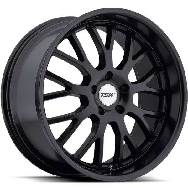 TSW Tremblant Matte Black Wheels