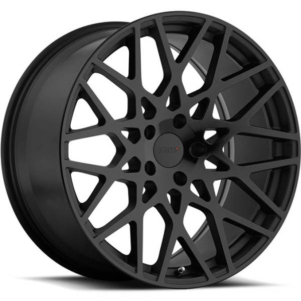 TSW Vale Double Black Wheels