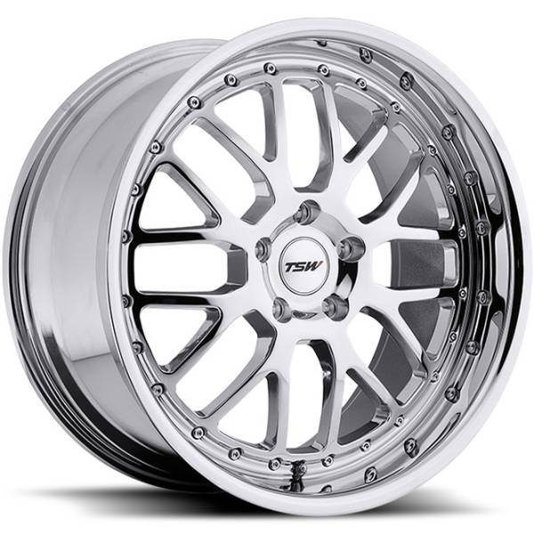 TSW Valencia Chrome Wheels