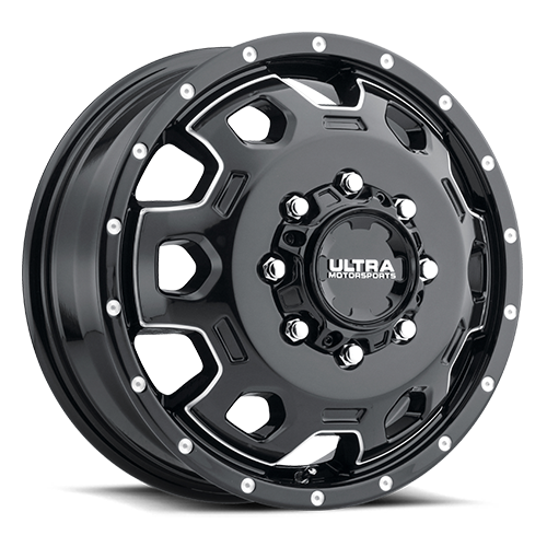 Ultra Type 017 Warlock Front Black Milled Dually