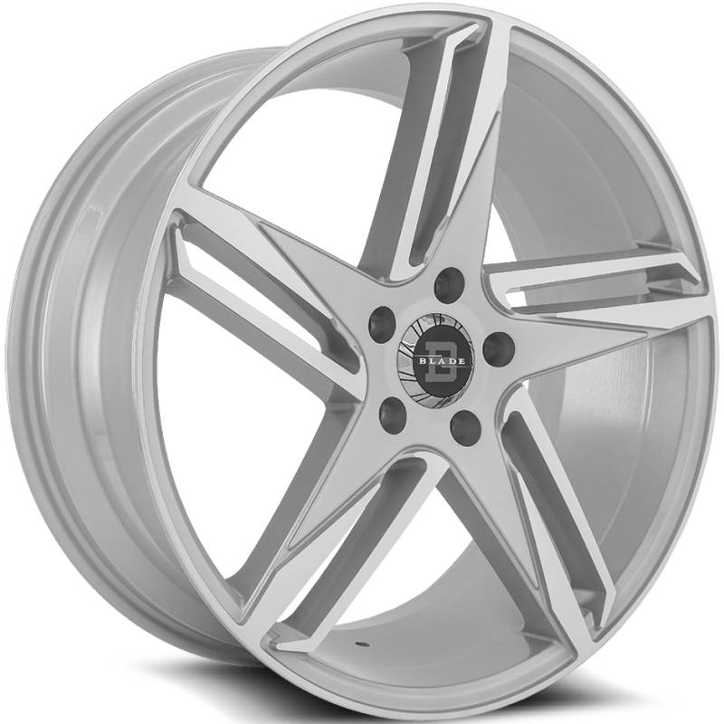Blade Wheels BL-407 Adverso Silver Machined