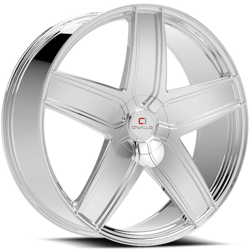 Cavallo CLV-31 Chrome Wheels
