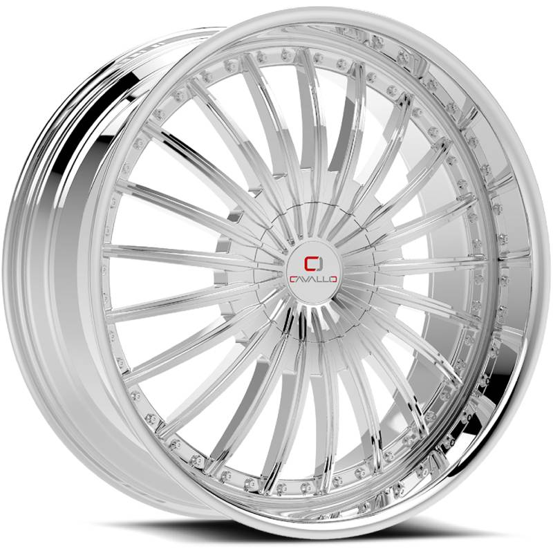 Cavallo CLV-32 Chrome Wheels