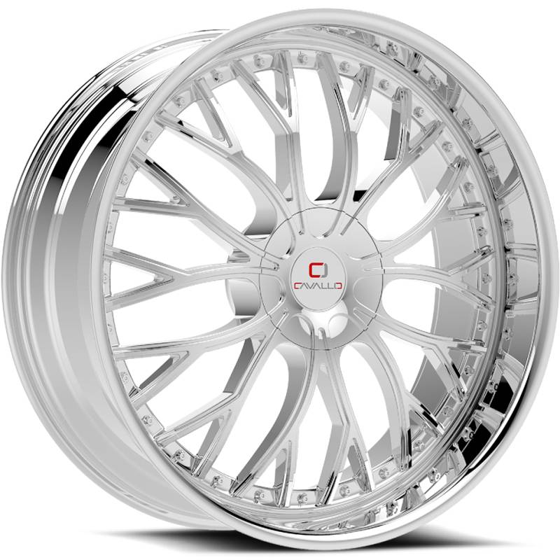 Cavallo CLV-33 Chrome Wheels