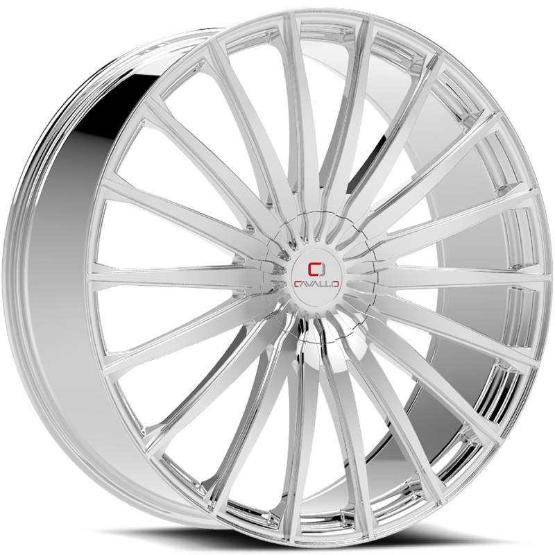 Cavallo CLV-34 Chrome Wheels