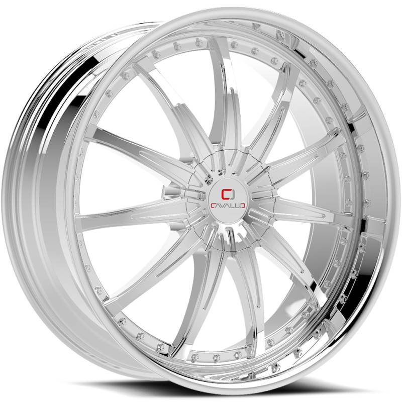 Cavallo CLV-35 Chrome Wheels