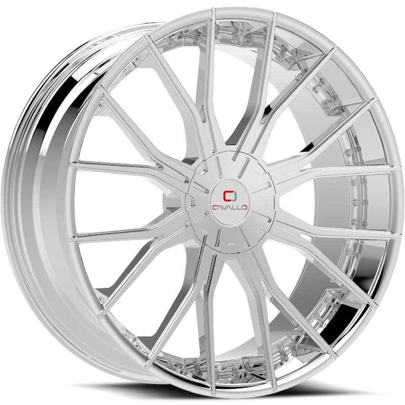 Cavallo CLV-36 Chrome Wheels