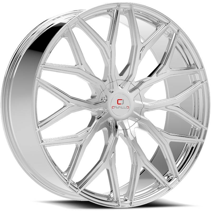 Cavallo CLV-37 Chrome Wheels